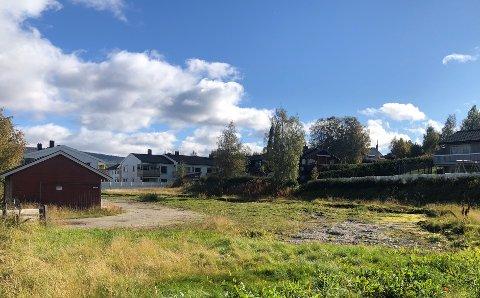 FEM BOLIGER: Her, i Parkveien 29 på Tynset, planlegges det nå for fem tilrettelagte boliger.