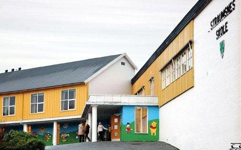 Straumsnes: Barne- og ungdomsskolen i ytre har i år 114 elever ifølge tall fra kommunen.