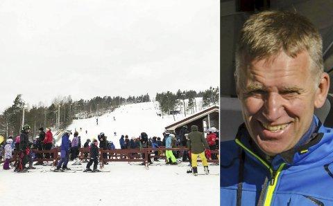 TILBUD FOR ALLE: Pengene som kom inn til «Lars Lindstøls minnefond» skal brukes til vinteraktiviteter for barn og unge. Risør Ski- og Skøyteklubb holder det første arrangementet i alpinbakken i Vegårshei mandag ettermiddag og kveld.