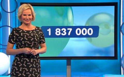 Ingeborg M. Ludlow ledet Joker-trekningen på onsdag da en mann fra Saltdal ble Joker-millionær.