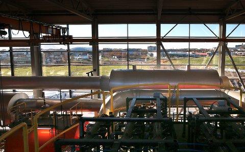 Keiseren. Her fra da BE Varme AS for alvor tok i bruk Keiseren biovarmesentral på Rønvikjoredet i 2016.