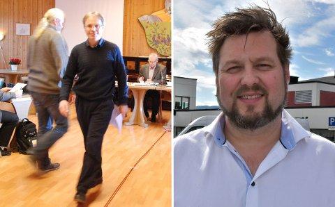 Smittevern- og kommuneoverlege i Saltdal, Kjell Gunnar Skodvin og smittevernlege i Fauske, Gregory Hautois.