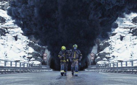 «TUNNELEN»: Filmen har hatt et produksjonsbudsjett på 34,6 millioner kroner, og er dermed den dyreste bergenske filmproduksjonen som er laget.foto: Nordisk Film / filmweb