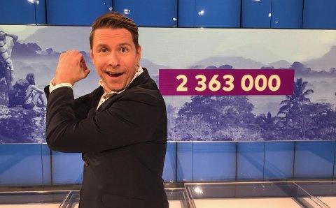 En mann fra Østfold kan vente seg nesten 2,4 millioner kroner inn på kontoen før helgen.