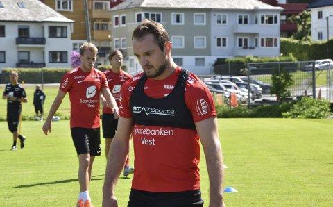 Søndag spiller «vinnerskallen» Veton Berisha for Brann mot Sogndal i treningskampen på Bømlo. Den kan du se på BA.no klokken 15.00.