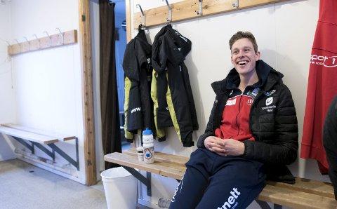 Sindre Henriksen (27) gir blaffen i lagtempo, selv om landslaget gjerne hadde trengt å ha ham på laget. Treneren står ved avtalen!