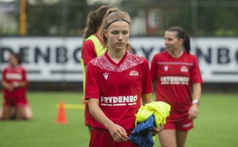 Sara Ritter har akkurat flyttet til Bergen, og har fått et veldig godt førsteinntrykk av byen og laget hun for tiden trener med, Sandviken.