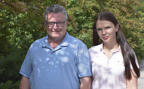 Imot: Kristin og Knut Gjerde, Nedre Eiker Frp, ønsker ikke så mange som 800 nye boliger.