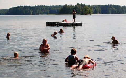 Kommunen har igjen tatt en ny sjekk på vannkvaliteten på badeplassene i Enebakk