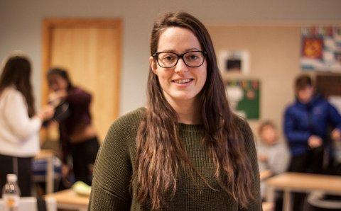 STOLT: Faglærar Anne Marit Seljeseth er stolt over klassen sin.