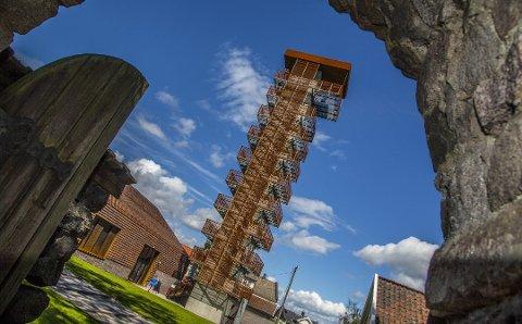 Tårnet på Borgarsyssel gir utsikt til den vakre byen ved Glommas munning.