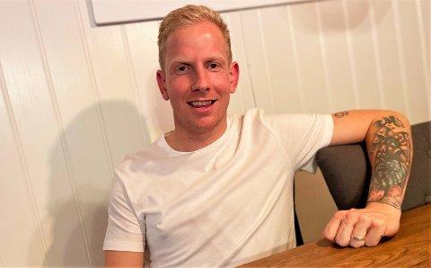 NY GIV: Stein Morten Johansen (38) forteller at kjæresten, Linn Annett, har støttet ham hele veien.