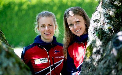Søskenparet Kamilla Steiwer og Marie Olaussen blir historiske når de løper VM-stafett for Norge.