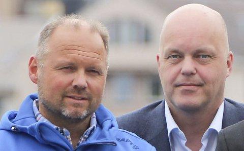 Frank Sundermeier og Kjetil Moe