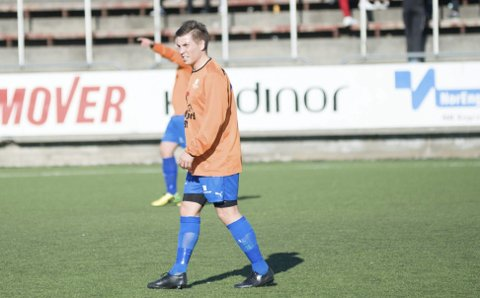 MØTER MODERKLUBBEN: Sindre Brandsegg, oppvokst i Skånland-land i Boltåsen, spiller nå for Grovfjord. Onsdag møter han sine gamle lagkamerater.