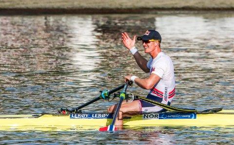 BRONSE: Kjetil Borch sikret seg bronse i EM med to(!) hundredels margin.