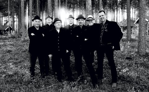 CONTENDERS: Nå rister de skikkelig liv igjen i bandet, som har ligget lavt de siste 20 åra. 7. desember spiller de på hjemmebane på Flisa.
