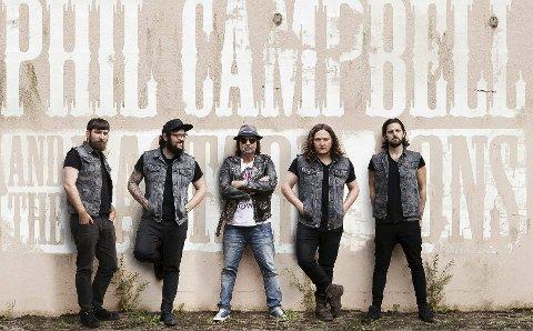 KOMMER: Allerede nå er en av headlinerne klare for Odal rockefestival 2019 – Phil Campbell fra Motörhead og hans sønner.