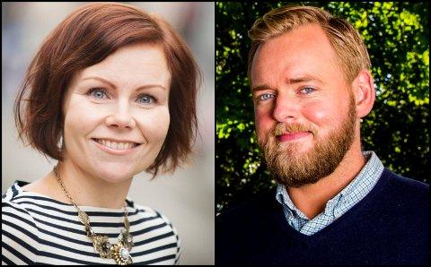 Lillehamringen Sanna Sarromaa og NRK-kjendisen Tore Sagen er gjester i Nytt på nytt fredag.