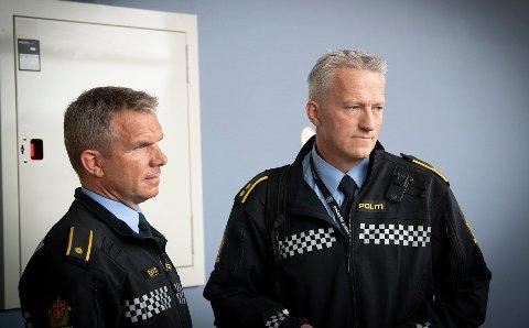 Trond Bjørge og Svein Morten Laingen vitnet i Nord-Gudbrandsdal tingrett onsdag.