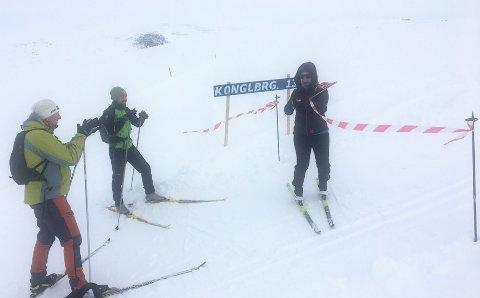 POPULÆRT TILBUD: Vinterferien startet med åpningen av ny fjelløype på Bjorli.