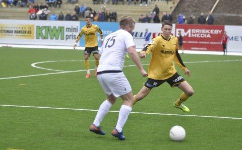 UTEN KONTRAKT: Marius Alm må imponere den nye treneren for å spille videre i Raufoss.