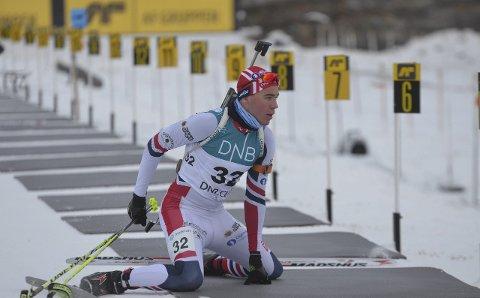 NM: Tore Ruud er et av flere lokale skiskytterhåp under helgens NM i fellesstart på Lillehammer. Arkivfoto: Arvid Holmlund