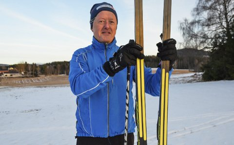 SPLITT: Skiene som John Kristiansen kjøpte har splittede feller, men modellene finnes i flere varianter og farger.