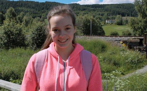 Emilie Sørbråten liker å dra på camping om sommeren
