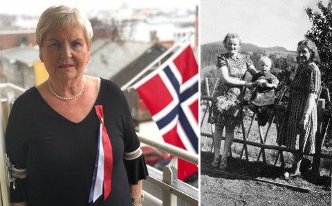 Evakuert til Roa: Karin Mauno Johansen ble tvangsevakuert fra Hammerfest til Roa.