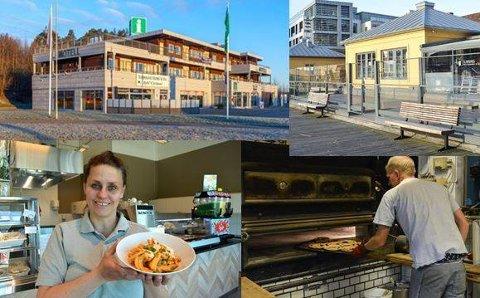 SMIL: Flere spisesteder i Halden har fått smilefjes fra Mattilsynet de siste ukene.