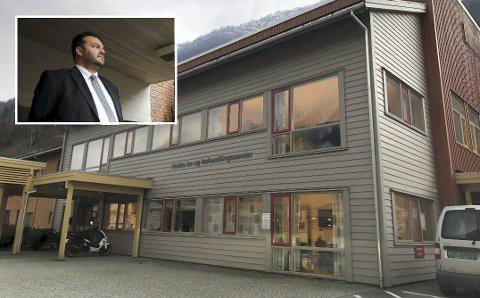 To personar døydde søndag på korona-avdelinga på Bokko bo og behandlingssenter. (Arkivfoto)