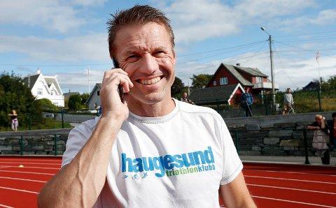 BLIR NM-VERT: Kurt Misje og Haugesund Triathlonklubb.