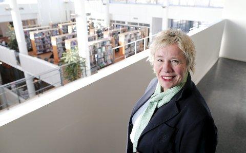VIL FUSJONERE: Rektor ved Høgskolen Stord/Haugesund Liv Reidun Grimstvedt.
