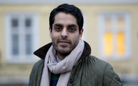 """HOVEDROLLE: Manish Sharma (33) fra Norheim kapret sin første rolle i storsatsingen """"Bortført"""" på TV2 på sitt første forsøk."""