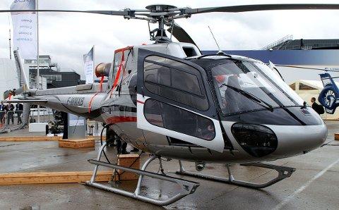 Det er et helikopter av denne typen Fisher Helgeland har investert i. Pressefoto