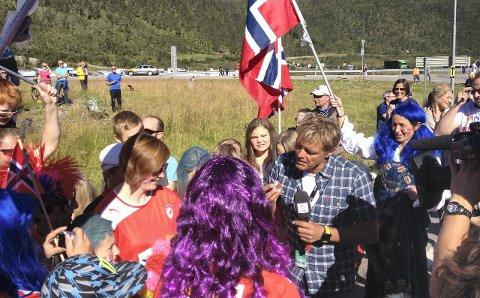 Forberedt på sirkus: Reporter Dag Otto Laut\ritzen er en sentral person når Arctic Race of Norway kommer til Helgeland. Mange ønsker å få den profilerte TV2-mannen til å stoppe og lage reprotasjer underveis i etappene.