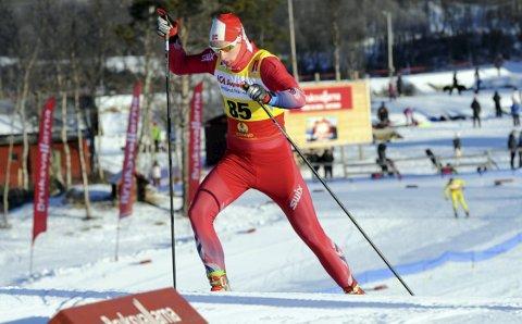 GODE SVAR: Jesper Abelsen Andreasen, Halsøy IL fikk gode svar da han gikk inn til 26.plass i det svenske åpningsrennet i langrenn.  FOTO: ARNE BRUNES