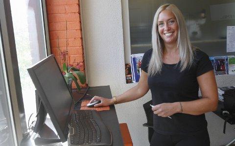 ADMINISTRATOR: Elin Slänsby administrerer Sommertrimmen, og hun er fornøyd med at det torsdag var over 1000 påmeldte.