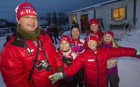 FRIVILLIG: Nesseby har mange lag og foreninger; deriblant Ilar. Idrettslagets sjef Charles Petterson tror det frivillige miljøet har mye å si for bolysten. Begge foto: Stian Hansen