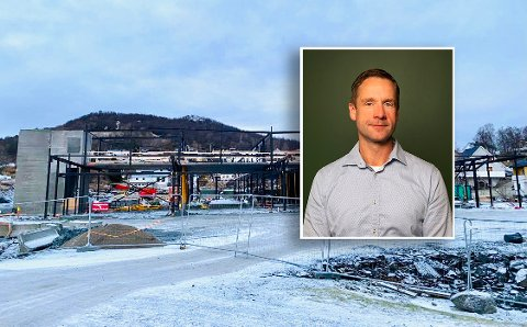 Torgeir Arntsen har store forhåpninger til Gangsås Næringspark. – Vi er stolte av bygget vi reiser.