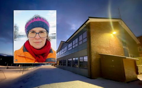 FAU-LEDER: Stine Renate Larsen og foreldrene på Bergseng skole sier at de har ventet lenge nok.