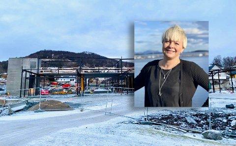 Nina Dons-Hansen og Harstad Høyre har vært kritiske til prosessen ved Gangsås Næringspark og XL-Bygg. Nå er hun spent på hvordan naboene reagerer.