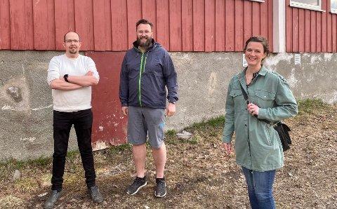 Daniel Hanssen, Lasse Lillegård og Kine Margrethe Søreng Mørken tror brannrapporten var avgjørende i avgjørelsen om å få ny skole.