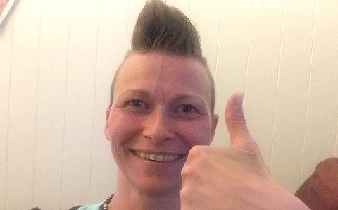 Vant på direkten: Camilla Holten (41) fra Aurskog. Foto: Norsk Tipping