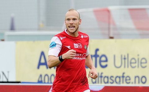 FERDIG: Omar Fonstad El Ghaouti skal spille for Arendal denne sesongen.