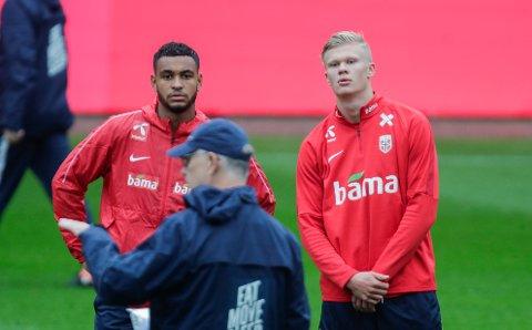 MESSI-KATEGORI: Norges landslagstrener, Lars Lägerback plasserer Erling Braut Haaland i samme kategori som Lionel Messi, etter ungguttens kanonsesong i Østerrike og Tyskland.