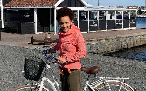 NYANSATT: Lenise Llewellyn (35) skal jobbe på den nye fritidsklubben i Holmestrand.