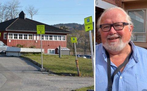 FÅR SNART OVERSIKT: Kommuneoverlege Ivar Andreas Skogvold opplyser at kommunen venter på en fireukersprognose fra Folkehelseinstituttet.