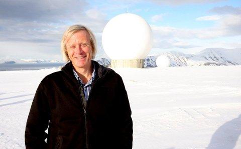 Rolf Skatteboe, administrerende direktør for KSAT, har nå en avdeling også i Silicon Valley.